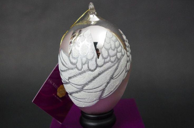 Sacred Season HEAVEN SENT GIRL Glass Ornament Babies Birth Gift Christmas   | Collectibles, Holiday & Seasonal, Christmas: Current (1991-Now) | eBay!