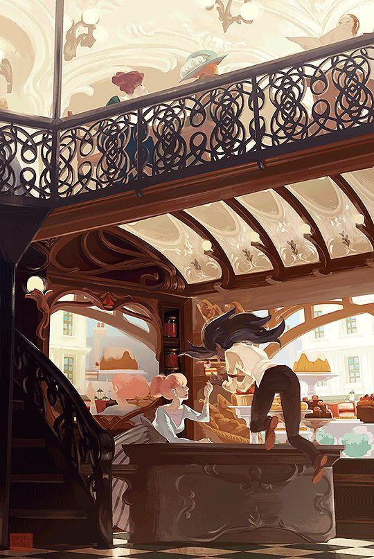 Des illustrations animées chaleureuses