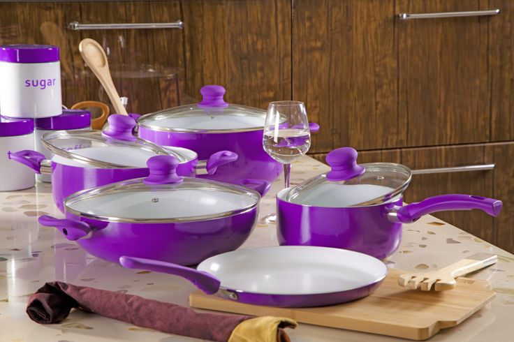 Finally, cookware that'll complement her cooking.