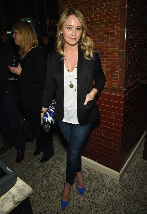 Christine Taylor at event of While We're Young (2014)