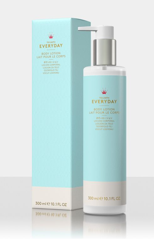 This #EverydayLotion from Triumph will leave your skin feeling soft and silky. Available in store #TriumphBeauty