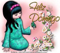 Mandy's Creations: Feliz Domingo - Muñequita  Mariposa
