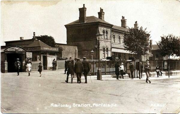 Archive photo of of Portslade railway station, date unknown