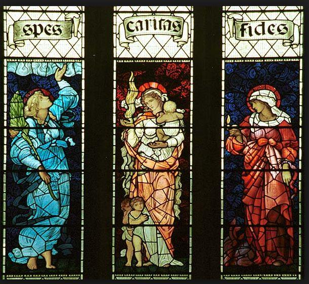 Virtudes teologais: Esperança, Fé e Cari...