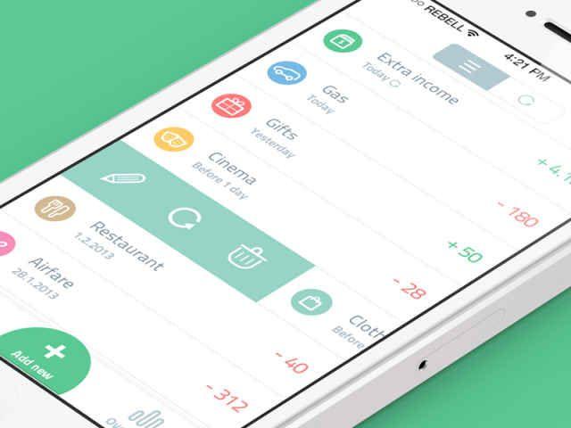 20 Fantastic Examples of Flat UI Design In Apps - UltraLinx