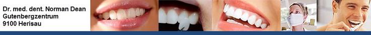 Dr. med. dent. Dean Norman, Norman Zahnarzt, Zahnarzt Herisau, Herisau, Zahnarzt, Zahnbehandlung, Zahnstellungskorrektur, Implantate