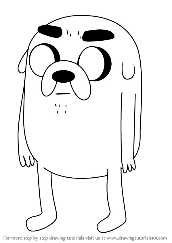 Learn How to Draw Jermaine from Adventure Time (Adventure Time) Step by Step : Drawing Tutorials