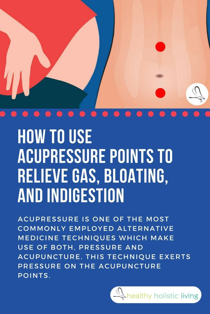 bloating? gas? indigestion? use these 5 pressure point techniques