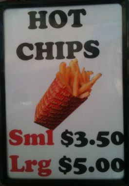 Love hot chips, come Westending it don't get any hotter than this.