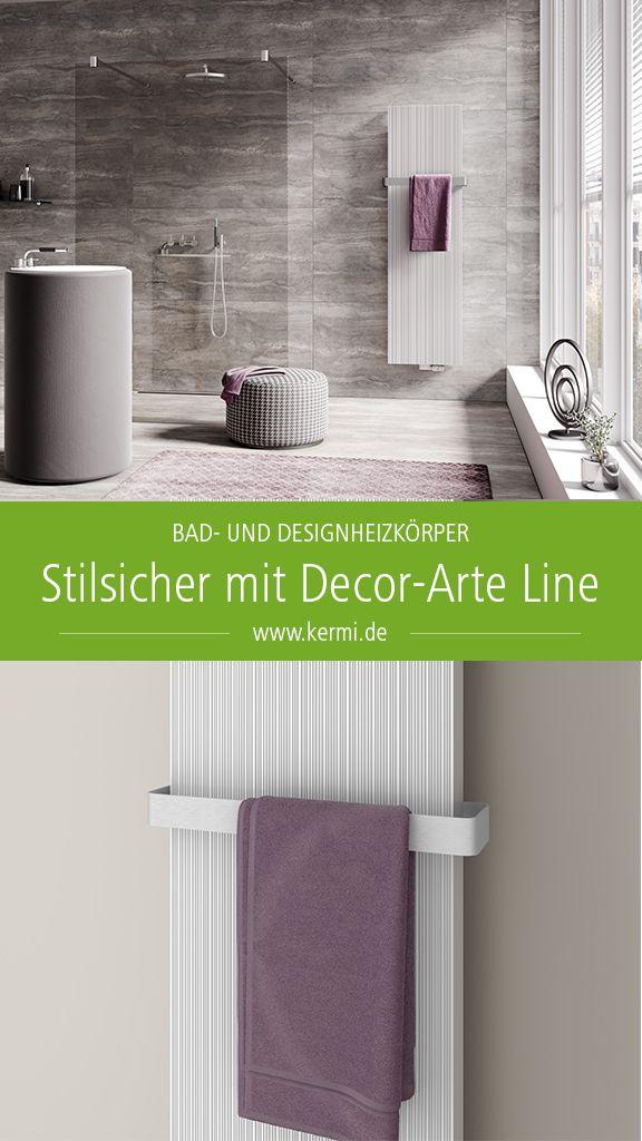 1302 Watt Badheizk/örper Design Zebra 3 Mittelanschluss wei/ß HxB: 175 x 60 cm Made in Germany // Top-verarbeiteter Bad und Wohnraum-Heizk/örper Marke: Szagato