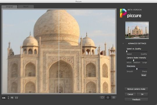 New Photoshop Plug-in Piccure Helps Clear Up Blurry Photos With One Mouse Click.