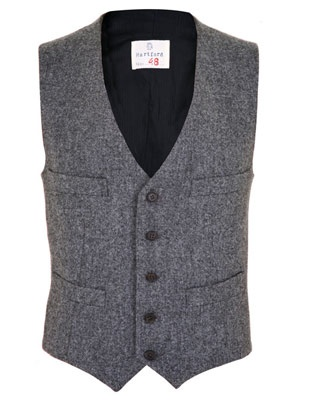 Men's Tweed Waistcoat... im all about some tweed