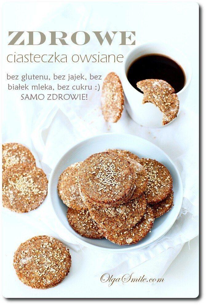 Zdrowe ciasteczka owsiane Dzisiaj zapraszam na szczególny przepis na zdrowe ciasteczka owsiane. Bez glutenu, białek mleka i cukru. Takie zdrowe ciasteczka owsiane można z powodzeniem zaproponować wszystkim osobom na diecie, oraz tym, którzy mają ochotę na