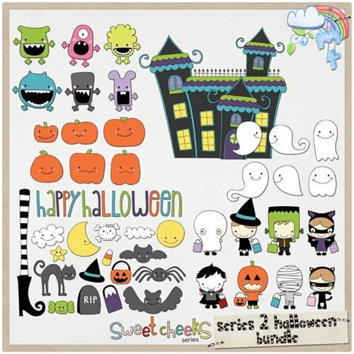 20 Sets of Free Halloween Clip Art and Vectors                                                                                                                                                                                 More
