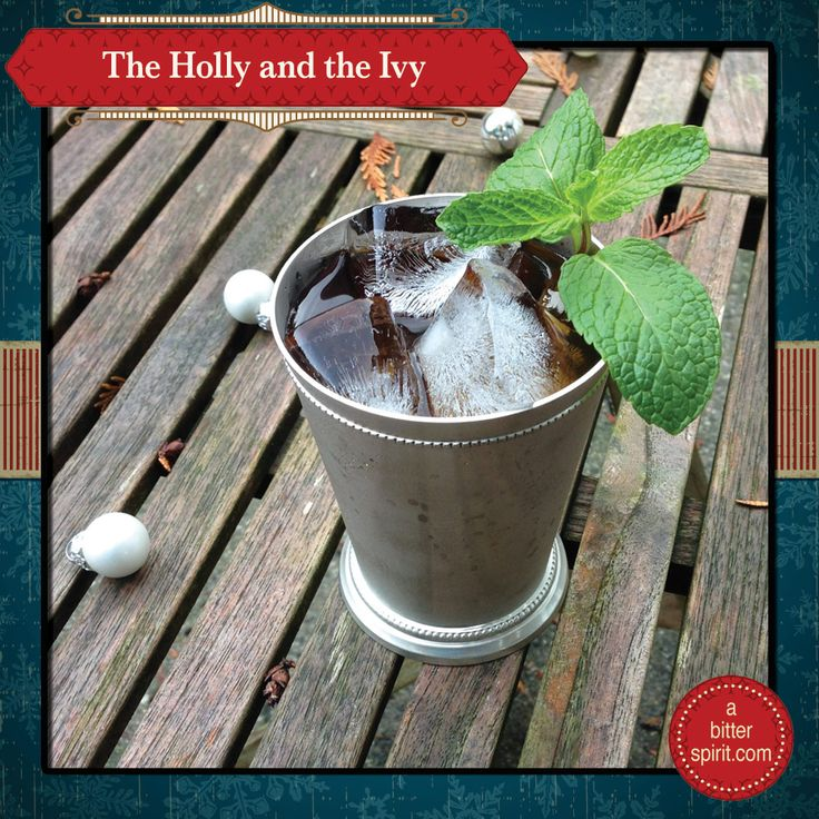 The Holly and the Ivy Cocktail (Cold Version) - ABitterSpirit.com