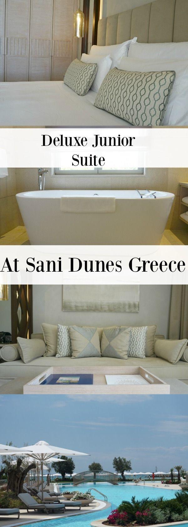 Deluxe Junior Suite At Sani Dunes Luxury Resort Halkidiki Greece