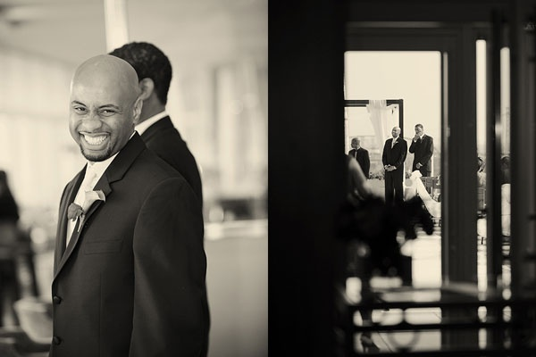 Красивая свадьба на крыше отеля Four Seasons от Mark Romine