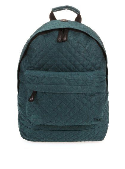 Tmavozelený prešívaný unisex batoh Mi-Pac Quilted 43,95€ -> 21,95€