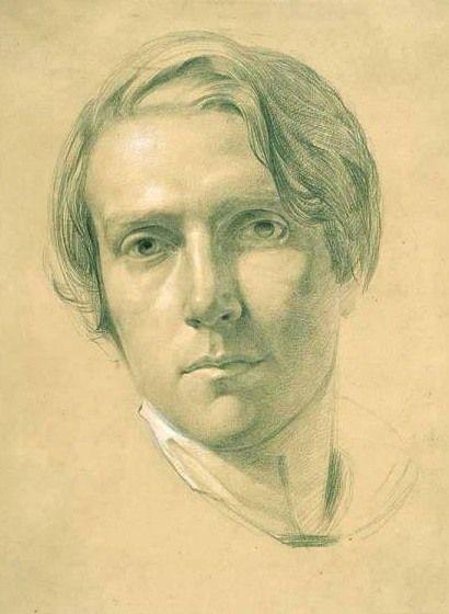 George Richmond self-portrait c1830 drawing - George Richmond (painter) - Wikipedia
