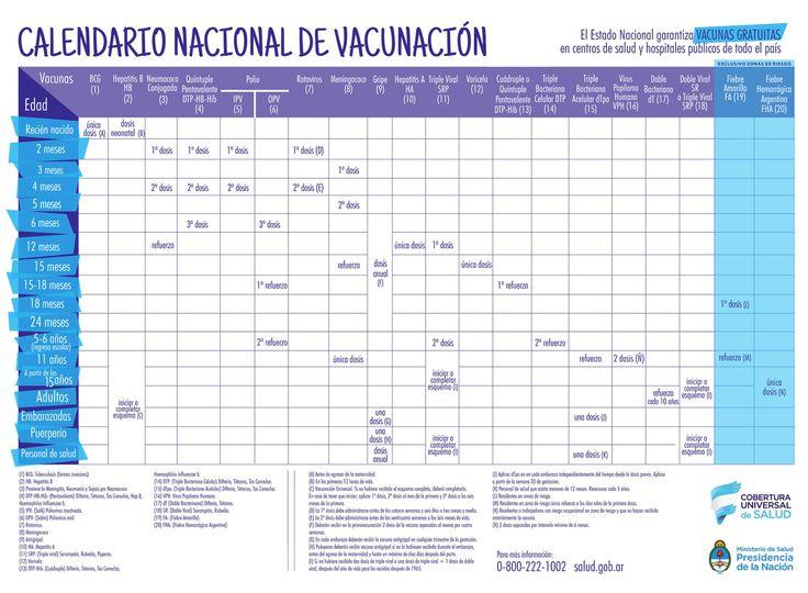 Versión JPG - Calendario de Vacunación 2017