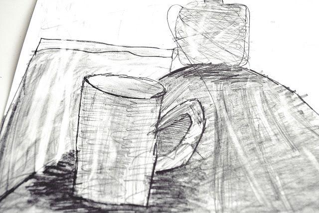kids sketching