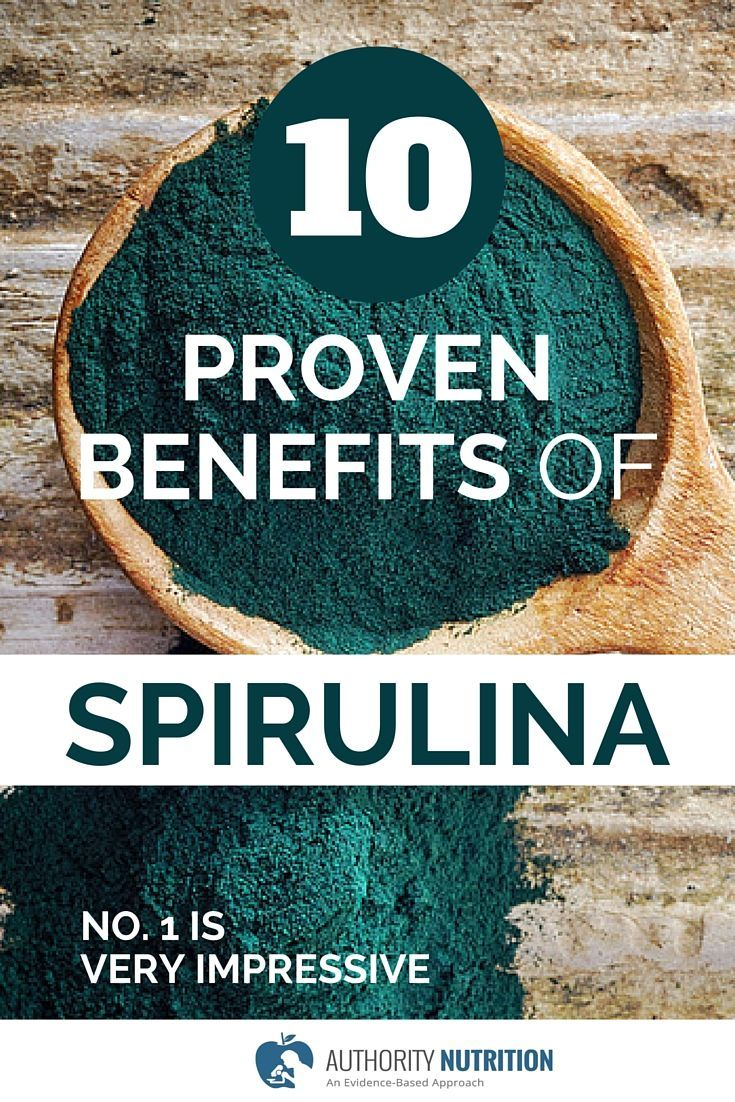 Spirulina is a type of blue-green algae that is popular as a supplement. Spirulina is incredibly nutritious, and has numerous health benefits. Learn more here: http://authoritynutrition.com/10-proven-benefits-of-spirulina/