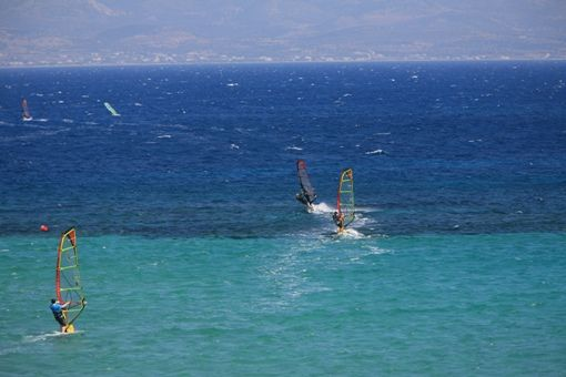 Visit Greece | Vacations for action seekers #windsurfing #watersports #summer