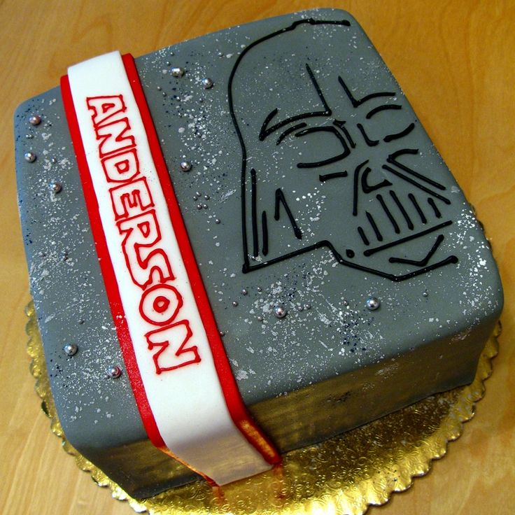 Darth Vader cake...