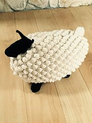 Ravelry: Pamclyde's Bobble Sheep Pillow
