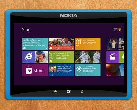 Nokia Tablet with Win 8