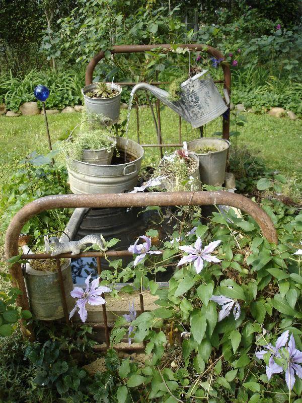 Garden Junk | Garden Junk fountains and ponds