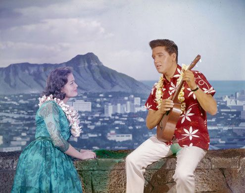 Blue Hawaii, the wedding song in this movie is my Mom and Dads Song.