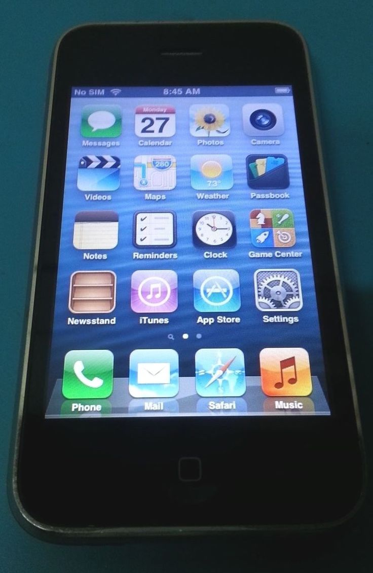 Apple iPhone 3GS 8GB Black AT&T Good Condition Fully Functional GREAT DEAL | eBay