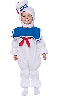 Toddler Boys Stay Puft Marshmallow Man Costume - Ghostbusters
