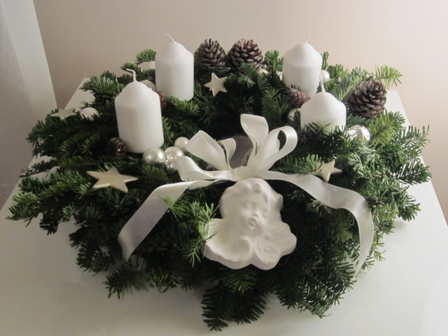 Advent Wreath#White#Candle