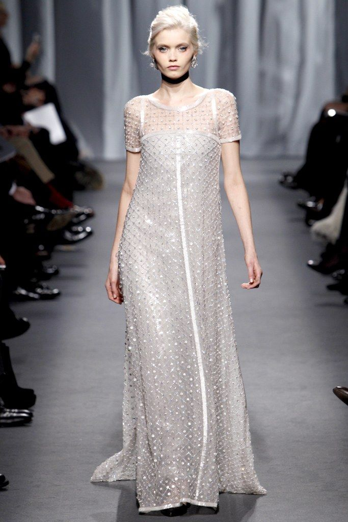 Chanel Spring 2011 Couture Fashion Show - Abbey Lee Kershaw (Next)