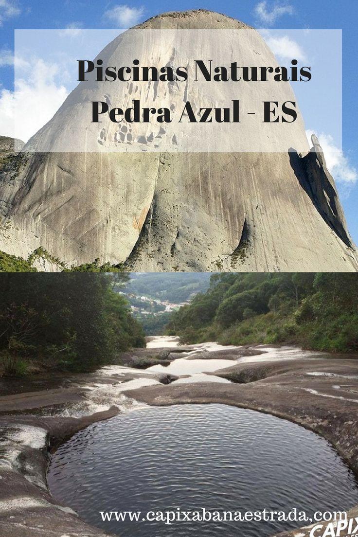 As piscinas naturais de Pedra Azul são maravilhosas. Elas estão localizadas nas montanhas capixabas,  na cidade de Domingos Martins, Espírito Santo.