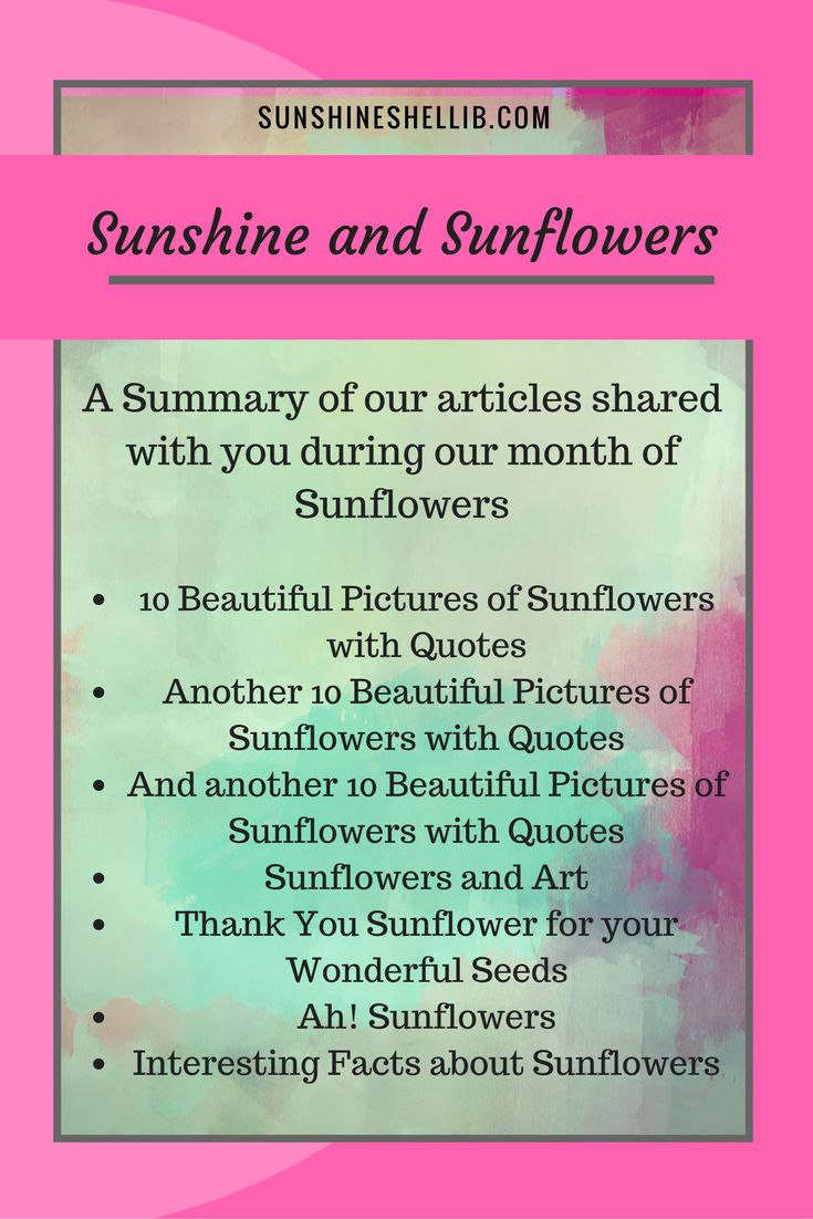 A SUMMARY OF OUR ARTICLES SHARED WITH YOU DURING OUR MONTH OF SUNFLOWERS!! #sunflower #sunflowers #quotes #interest #williamblake #vincentvangogh #sunflowerseeds SUN, FLOWERS, HAPPY, FUN, YELLOW, BRIGHT, BEAUTIFUL, HIPPIE, GARDEN, CRAFTS