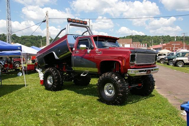 Custom Chevy Pickup Truck