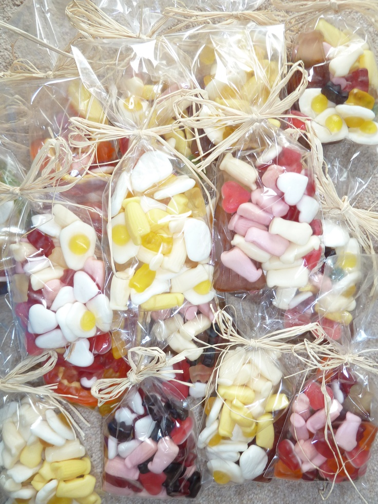 Sweet Bags For Pick And Mix Stand And Favours For Night