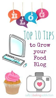 Here are my top 10 ( Here are my top 10 (successful!) tips to grow your food blog! From sallysbakingaddic... blogging tips for beginners blogging tips and tricks wordpress blogging tips lifestyle blogging tips blogging tips ideas blogging tips writing blogging tips blogger blogging tips group board photography blogging tips fashion blogging tips blogging tips & tools blogging tips instagram blogging tips money blogging tips successful blogging tips for teens tips tricks to have a better…