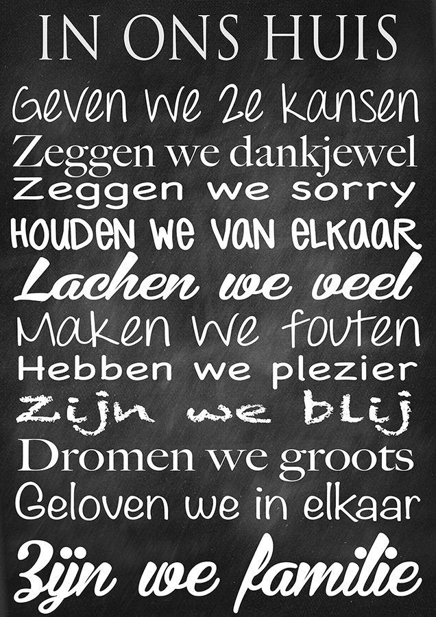 In ons huis - Grotere versie op te vragen - Meestertim.nl