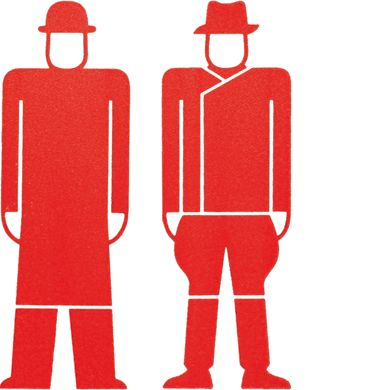 Isotype | Gerd Arntz designed around 4000 signs, which symbolized key data from industry, demographics, politics and economy, for the visual language Isotype.