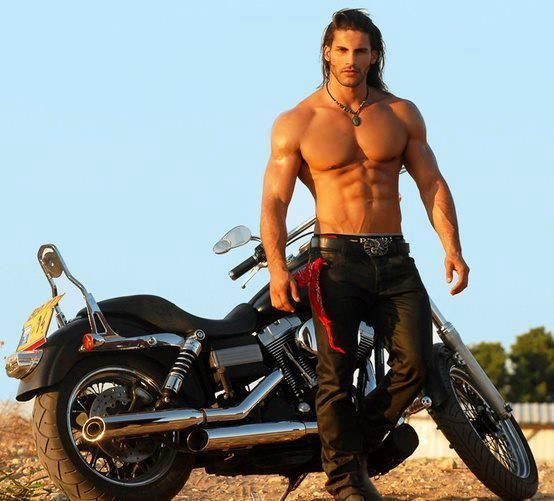 Afbeeldingsresultaat voor sexy biker men