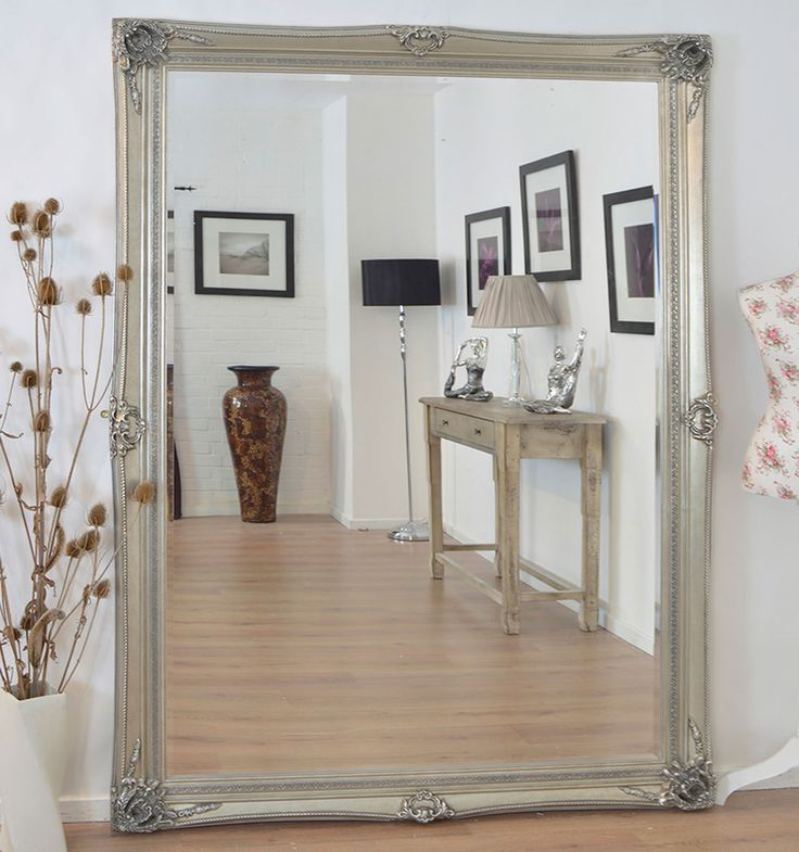 Extravagant Ornate Wall Mirror Is A Beautiful Statement Piece For Any Room From The Living To Bedroom This Has Bevelled Glass Size Of X And