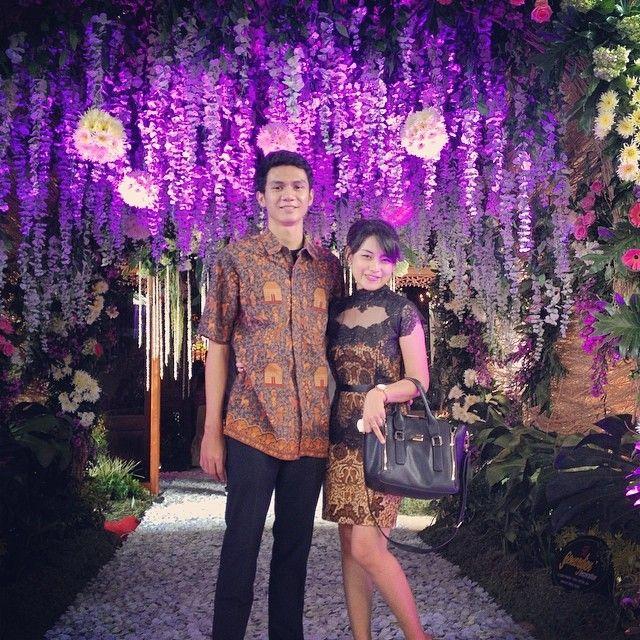 batik combine with black lace