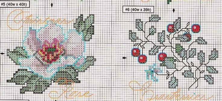 """Милые сердцу штучки: Новогодняя вышивка: Миниатюры """"Noel Naturals"""""""