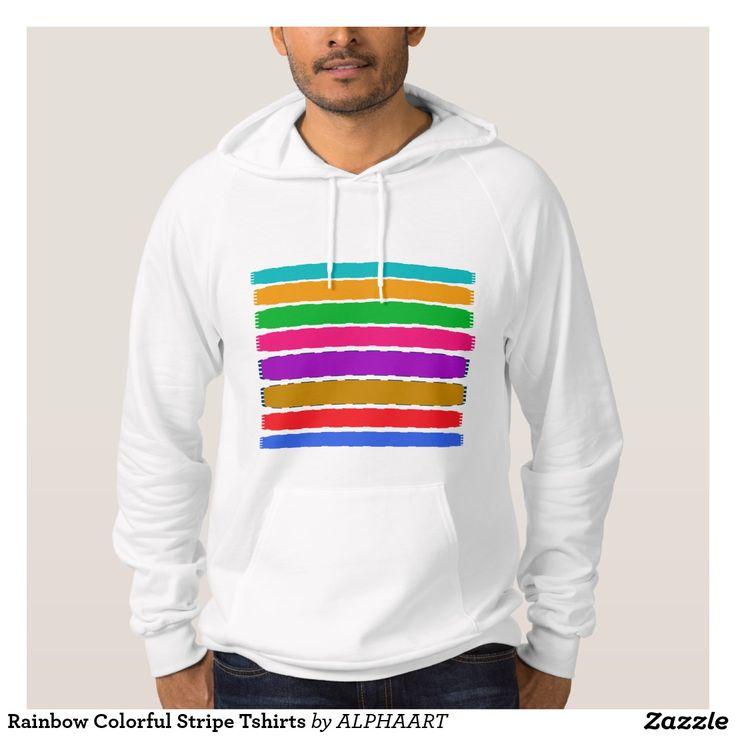 Rainbow Colorful Stripe Tshirts