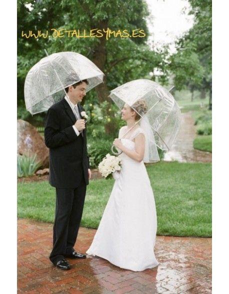 Paraguas para novios