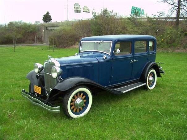Mildred Kilgore's 1932 Dodge sedan--she always drives the latest model because her husband Roger owns the Dodge dealership in Darling.